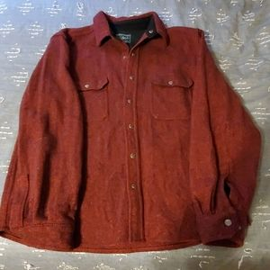 Men's Heavy wool shirt